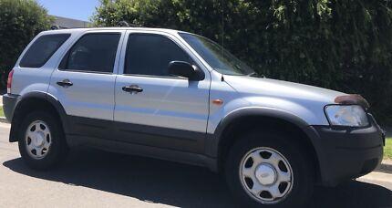 2004 Ford Escape, Auto 4x4, RWC + Long Registration