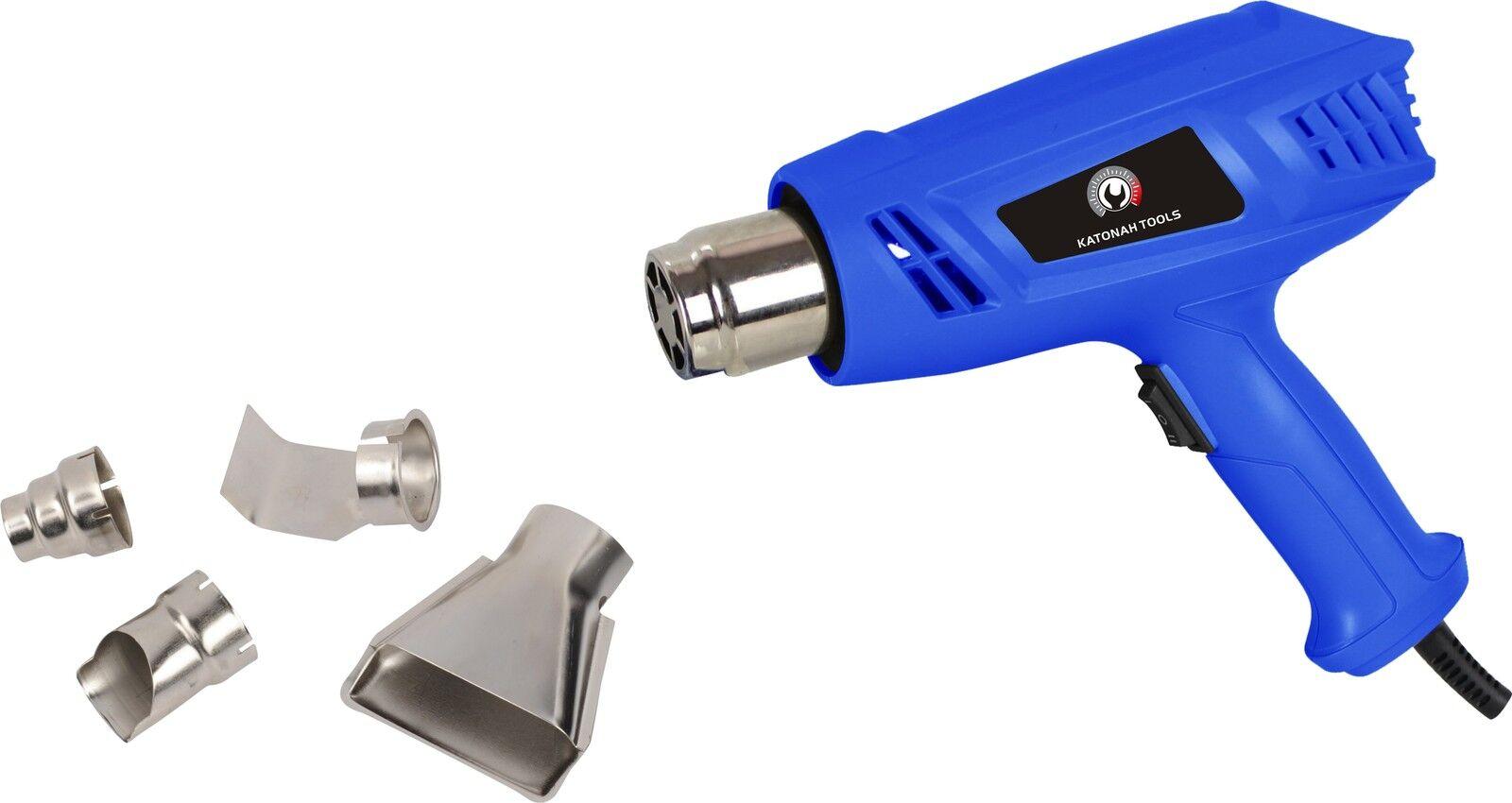 New Heat Gun Hot Air Gun Dual Temperature+4 Nozzles Power Tool 1500 W Heater Gun