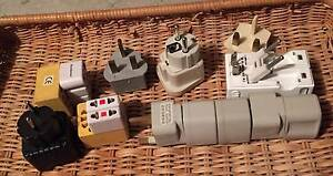 Free - Miscellaneous travel power plug adaptors Holt Belconnen Area Preview