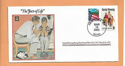 THE FACTS OF LIFE MAR 18,2003 NEW YORK   NORMAN ROCKWELL COVER COLLECTION