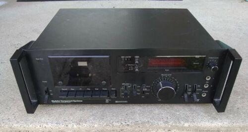 MCS 3563 Vintage Cassette Tape Machine Deck Plays NEC