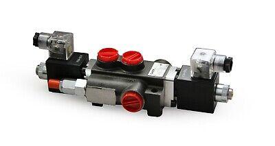 Solenoid Operated 1 Spool Control Valve 12 Volt 21 Gpm