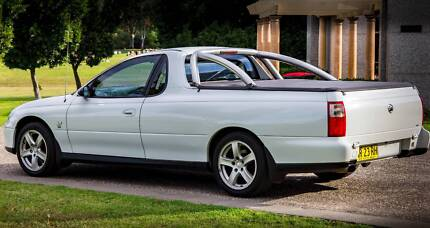 2002 Holden COMMODORE UTE VUII S Manual