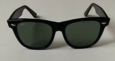 Ray-Ban Men's Original Wayfarer RB2140 901 54mm Black Sunglasses