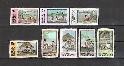 Tokelau Michelnummer 42 - 49 postfrisch (Übersee:107)
