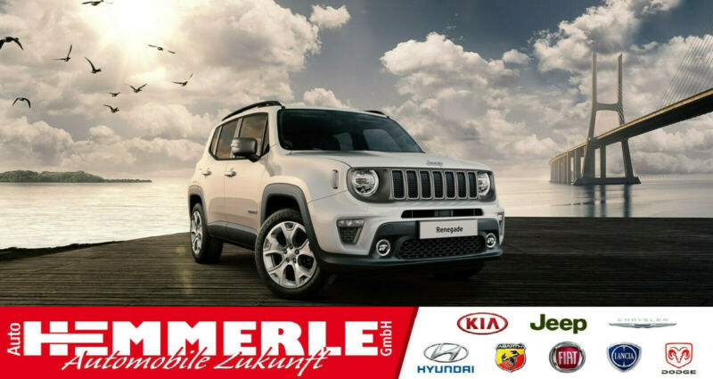 Jeep Renegade Limited 120 PS*Navi*Kamera*LED*