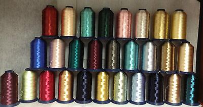 Robison Anton Embroidery Thread - 300/2 Robison Anton Brite Rayon 3500 yds Embroidery Thread