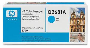 toner originale HP CARTUCCIA TONER Q2681A CIANO - Italia - L'oggetto può essere restituito - Italia