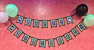 Ghostbusters Birthday banner/ Happy Birthday/ party supplies/ Decor - Ghostbusters Decorations
