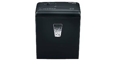 Fellowes Powershred H-5c Cross-cut Black Paper Shredder 5 Sheets Safety Lock