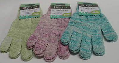 EcoTools Exfoliating Bath and Shower Gloves, 1 Pair