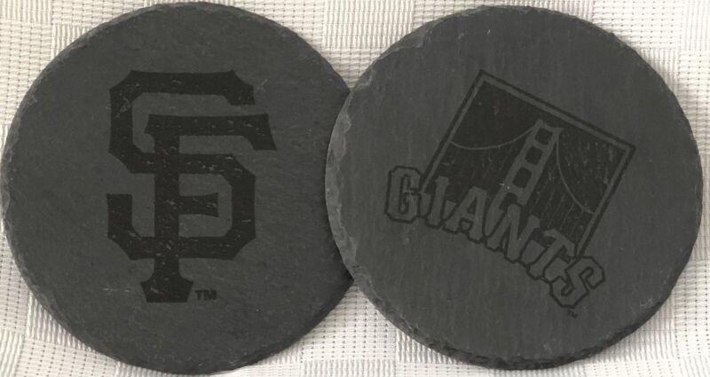 San Francisco Giants Set Of 2 Coasters Season Ticket Holder Gift Sga Mlb New