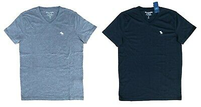 NWT Abercrombie & Fitch By Hollister ICON V-NECK TEE,Men's T-Shirt All Sizes