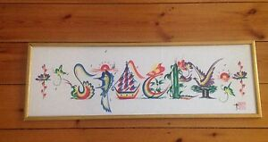 Hand painted name print of STACEY $10, pick up PROSPECT Prospect Prospect Area Preview