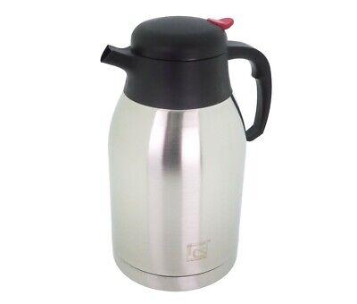 ISOLIERKANNE Cottbus CS EDELSTAHL THERMOSKANNE Kaffeekanne Teekanne NEU ()