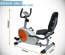 MAGNETIC RECUMBENT EXERCISE BIKE - EXCELLENT CONDITION Seven Hills Blacktown Area Preview