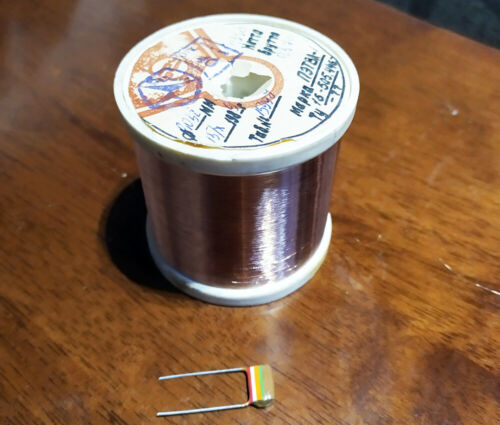 48 AWG 12.5 oz/ 0,032mm 320g Poly Copper Magnet Wire 155C