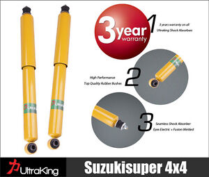 2 Rear STD & LOW Holden Commodore VR,VS.Station Wagon Shock Absorbers