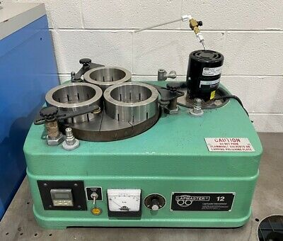 Lapmaster 12c Bench Top Precision Open Face Flat Lapping Machine - Lmc 50268