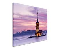 120x80cm Quadro Su Tel Su Cornice Turchia Fanciulle Torre Vedi Uerdigkeit -  - ebay.it