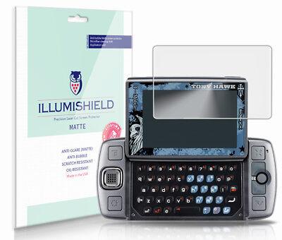 iLLumiShield Anti-Glare Screen Protector 3x for Sharp Sidekick LX (Sidekick Lx Screen Protector)