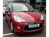 CITROEN DS3 1.6 e-HDi Airdream DStyle (red) 2014