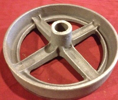 8in Hit Miss Gas Flywheel Engine Cart Truck Wheel Cast Iron 4 John Deere Ihc