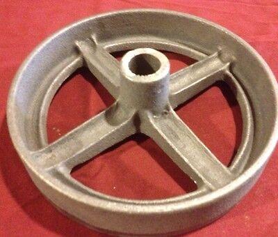8in Hit Miss Gas Flywheel Engine Cart Truck Wheel Cast Iron 4 John Deere Ihc
