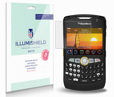 iLLumiShield Anti-Glare Matte Screen Protector 3x for BlackBerry Curve 8350i