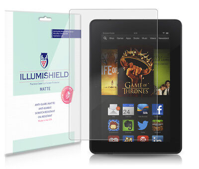 iLLumiShield Anti-Glare Screen Protector 3x for Amazon Kindle Fire HD 7