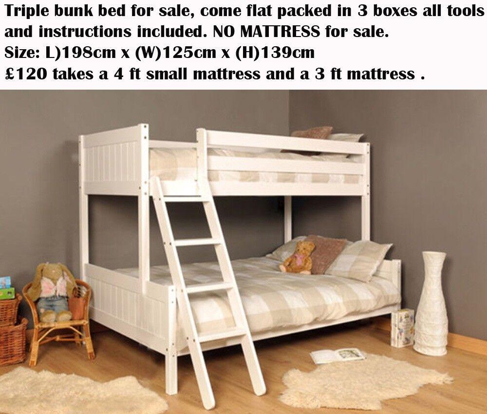 Triple Bunk Beds In Bridgwater Somerset Gumtree