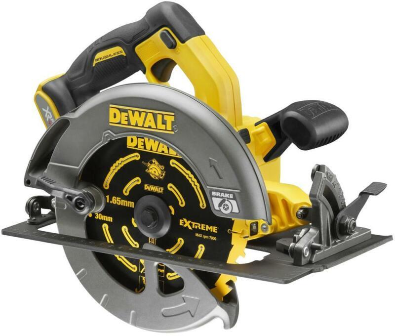 DEWDCS576N | DEWALT DCS576N XR FlexVolt Circular Saw 190mm