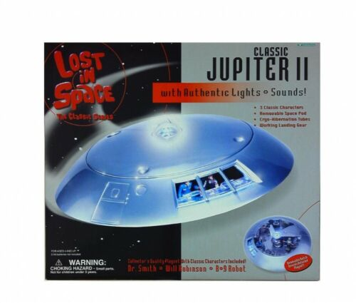 Trendmasters LOST IN SPACE Classic JUPITER II with Authentic Lights Sounds NIB