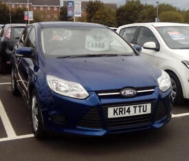 FORD FOCUS 1.0 EcoBoost Edge (blue) 2014
