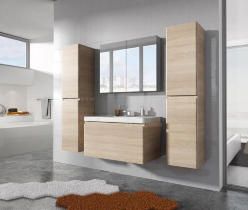 ≥ Badmeubel Vienna badkamermeubel wastafel badkamer kast bad ...
