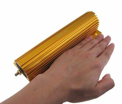 500w 1 Ohm Power Resistor Wirewound Aluminum Load W Screw Nut