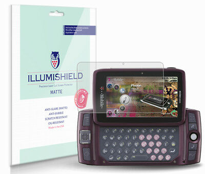 iLLumiShield Anti-Glare Screen Protector 3x for Sharp Sidekick LX 2009 - 2009 Screen Protector