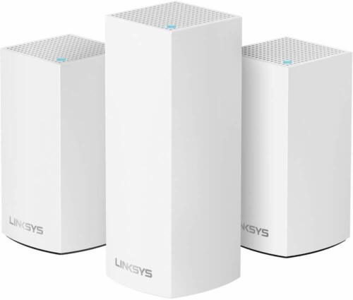 Linksys Velop Home Mesh WiFi Bundle (Dual/Tri-Band Combo) 3 pack,