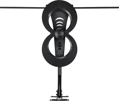 Indoor Uhf Hdtv - New Antennas Direct ClearStream 2 Max UHF VHF Indoor Outdoor HDTV Antenna C2MVJ