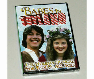 Babes in Toyland (DVD) 1986 TV Movie Drew Barrymore Keanu Reeves **NEW SEALED**