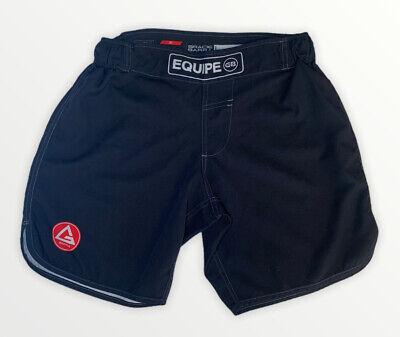 Gracie Barra Men Size 30 Equipe GB Edition Shorts Black Jiu Jitsu MMA UFC Fight