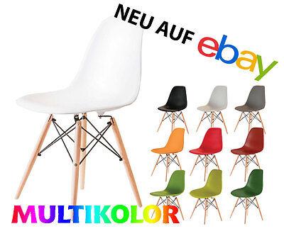 Zimmer Stuhl (STUHL Multikolor Wohnzimmerstuhl Eiffel Kunstoff Esszimmerstuhl)