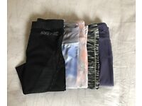 Ladies gym leggings - Nike, alo yoga, underarmour, reebok