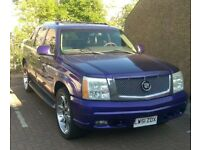 2002 Cadillac Escalade EXT 345BHP V8 American Muscle Pickup Truck LHD £5500 ONO