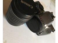 Canon EOS 3000v film slr (with lens)