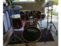 5 Piece Mapex M-Series Drum Kit with Zildjian ZXT Titanium Cymbals