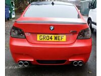 Bmw 530d replica m5 only 102 on the clock