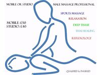 Mobile Professional Male Massage Therapist. Men/Women/Couples