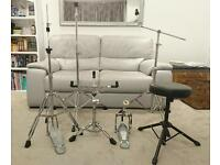 Drum hardware pedal seat / stool stands