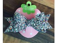 Homemade hair bow